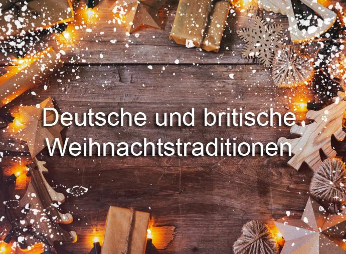 Weihnachtsessen Deutschland Tradition.Deutsche Und Britische Weihnachtstraditionen