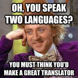 Misconceptions about Translation